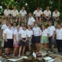 Samarita werkvakantie deelnemers 2012