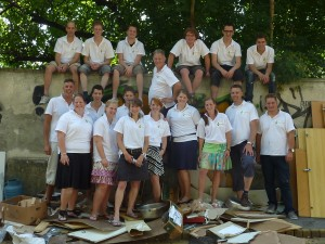 Samarita deelnemers werkvakantie 2012